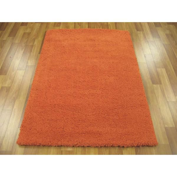 Deals Direct Com Texture Shag Rug Orange 165x115cm