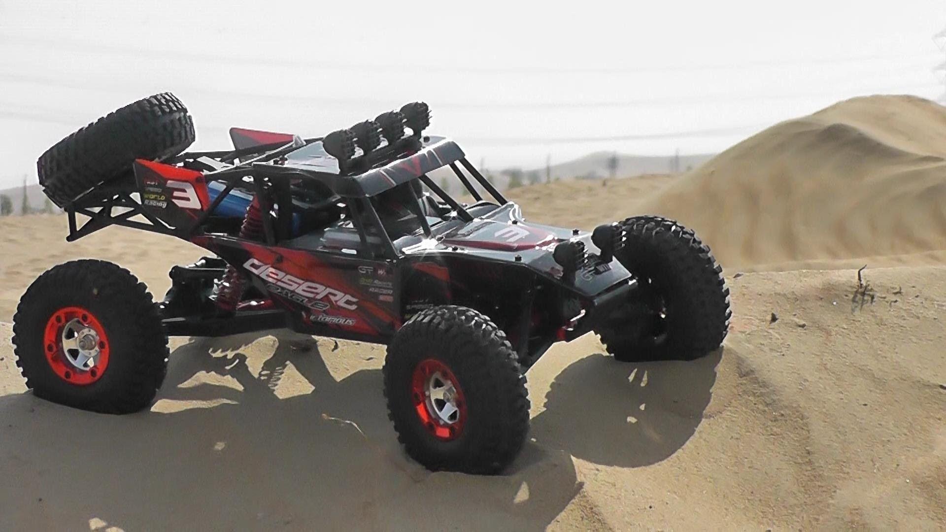 RC 4WD Desert Buggy Feiyue Desert Eagle 2 Review Desert