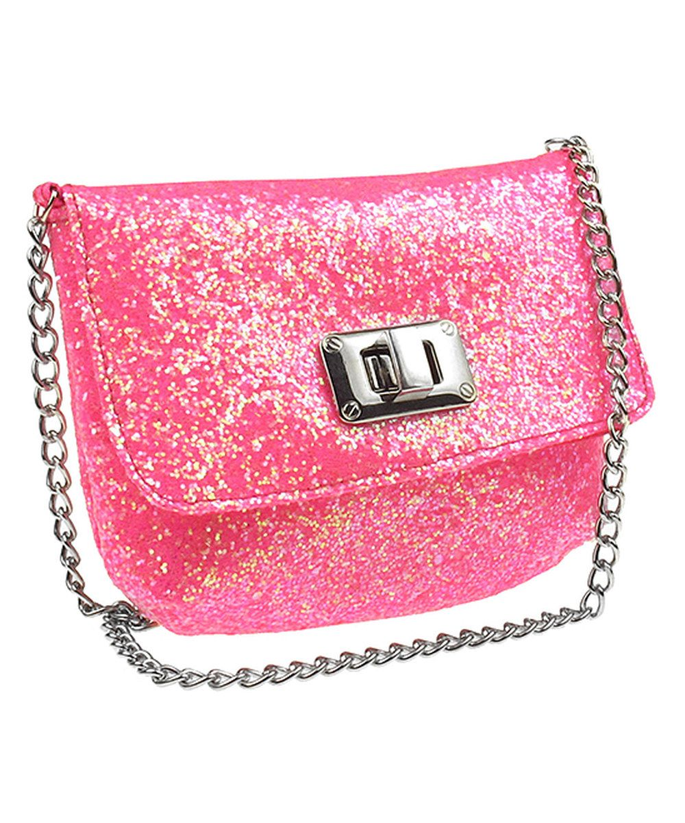 Another great find on #zulily! Pink Chunky Glitter Shoulder Bag by Capelli New York #zulilyfinds. $12.99