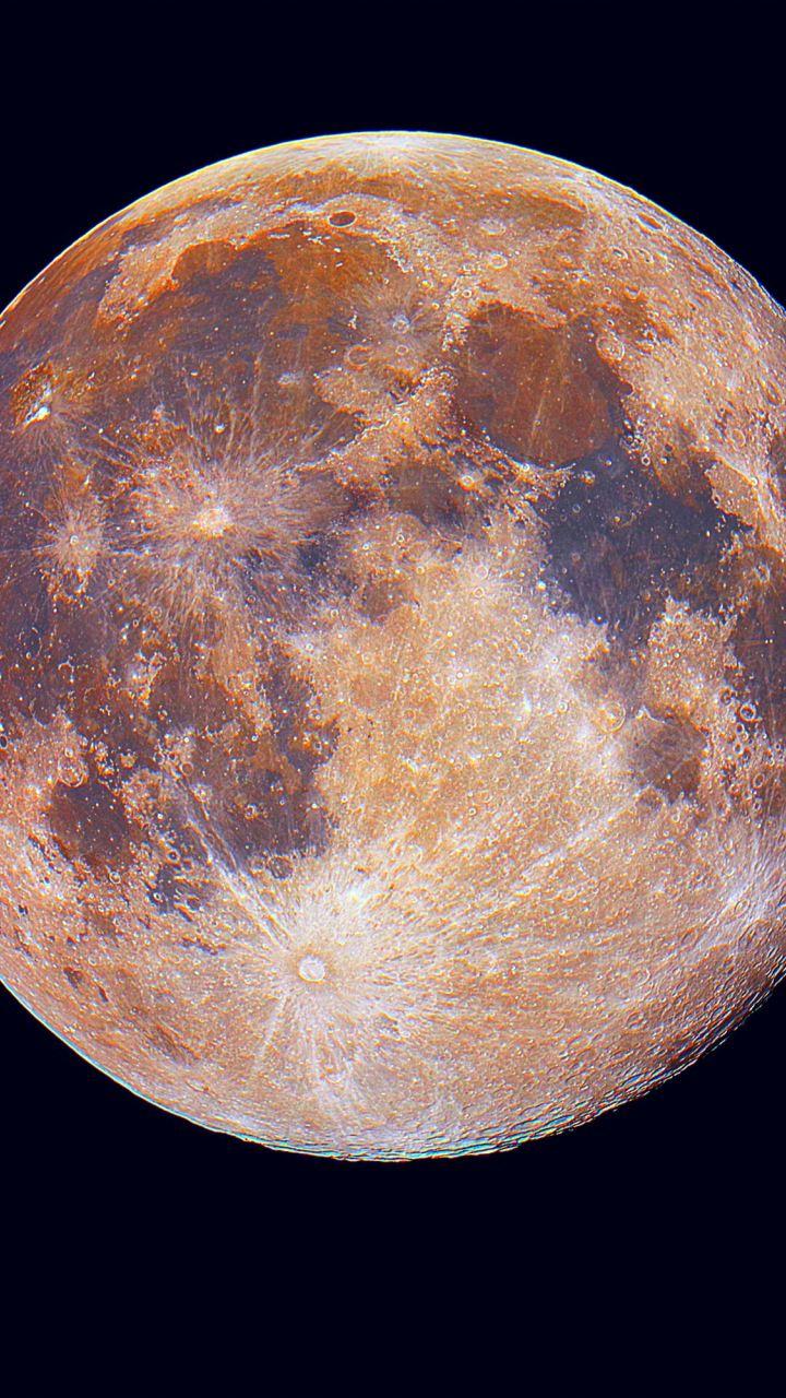 moon portrait 720x1280 wallpaper planets wallpaper