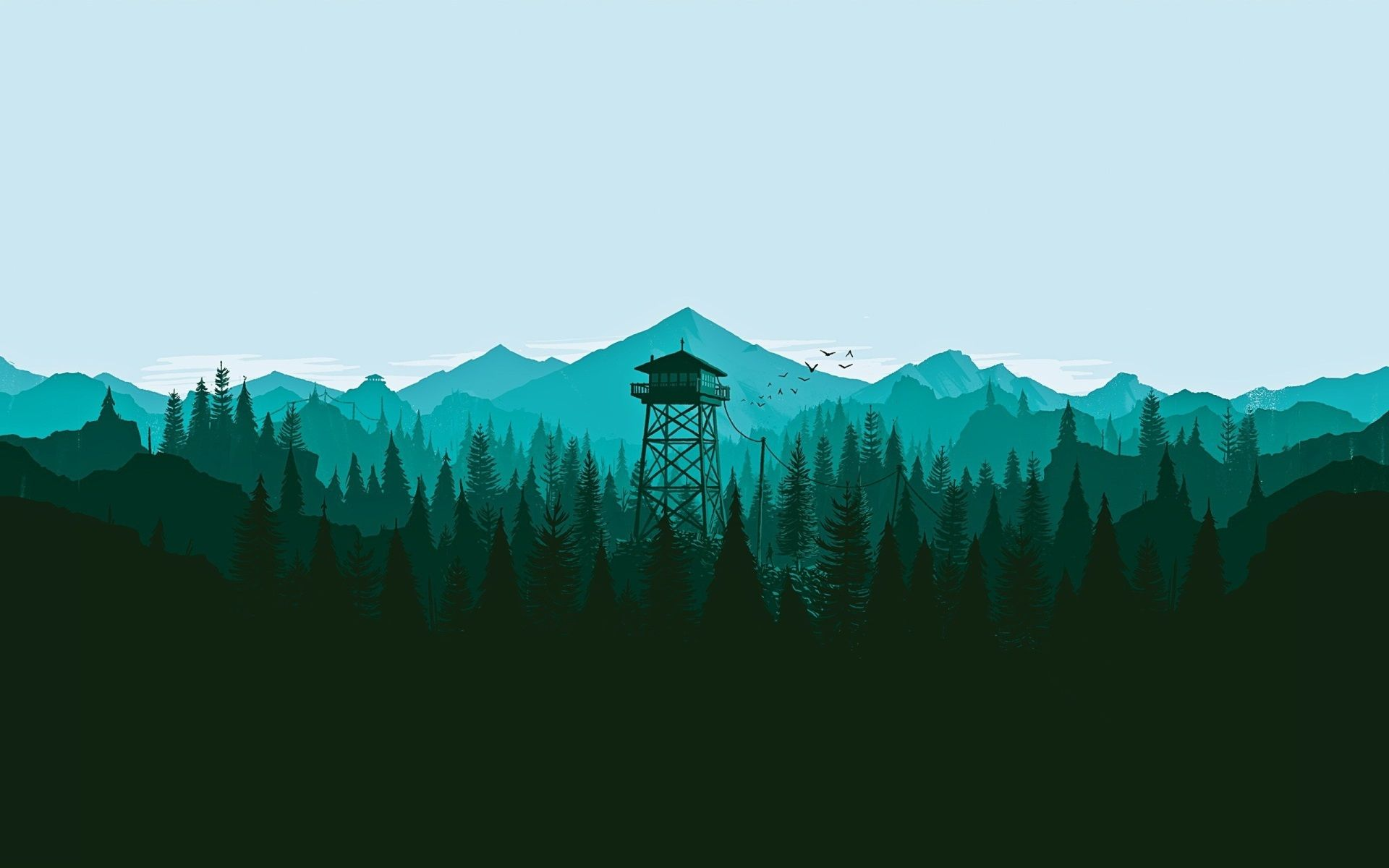1920x1200 Firewatch Desktop Wallpaper High Resolution Free