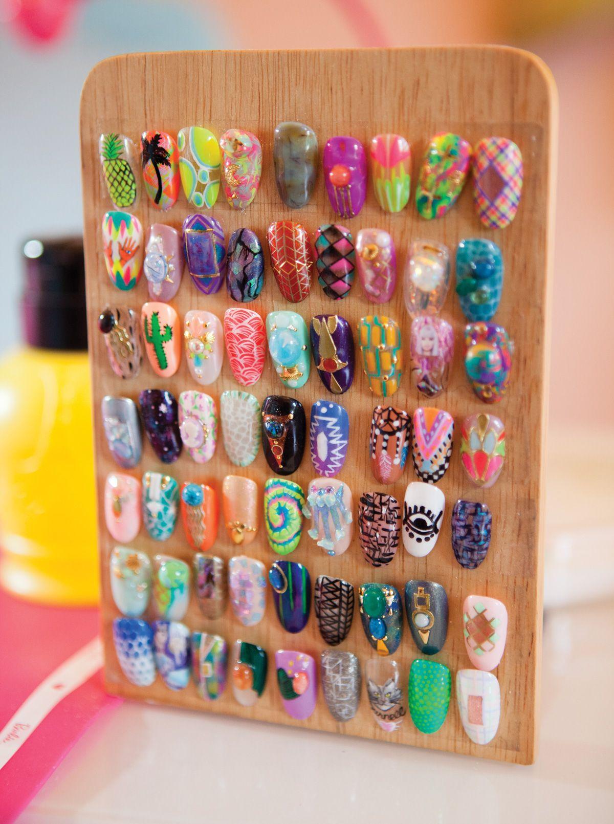 Savvy Salon: Nail Swag Studio | Salon || Decor | Pinterest | Nail ...