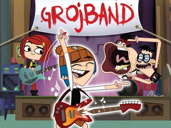 check out my hubby's new show Grojband on Teletoon on