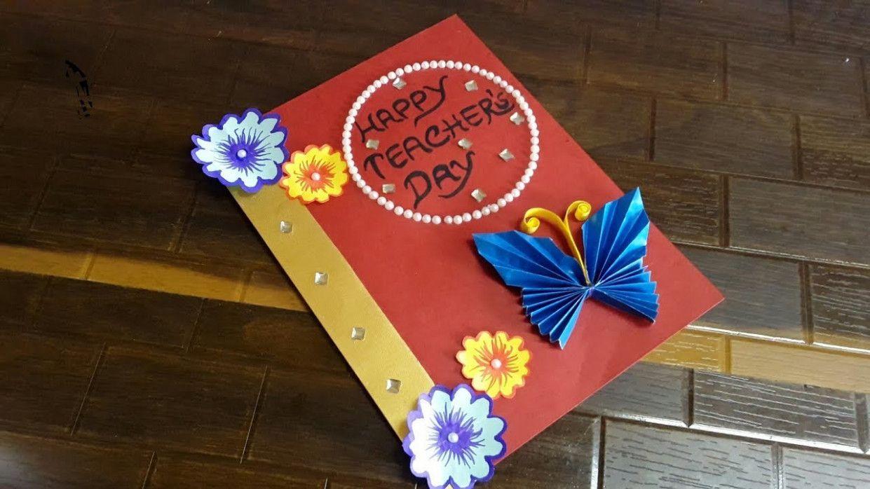 Handmade Teachers Day Card Creative Greeting Cards Teachers Day Step By Step Teacher Birthday Card Teachers Day Greeting Card Handmade Teachers Day Cards