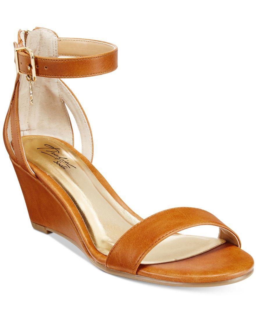 eb2f697bd5fb Thalia Sodi Areyana Two-Piece Wedge Sandals