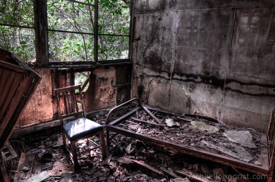 Small Pox Isolation Ward Haikyo