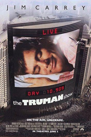 The Truman Show Adapte En Serie Cinechronicle The Truman Show Jim Carrey Movies Love Movie