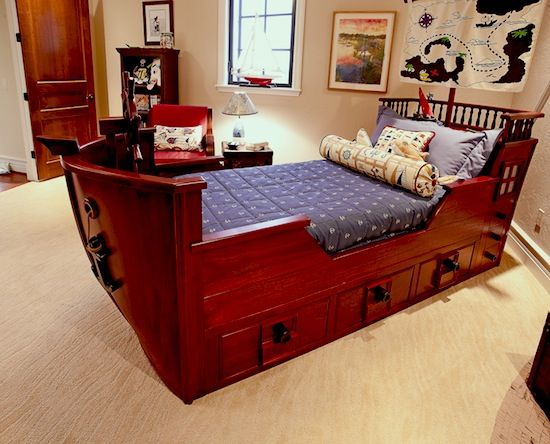 25 Amazing Boat Themed Bedroom Ideas (Nautical Beds ...
