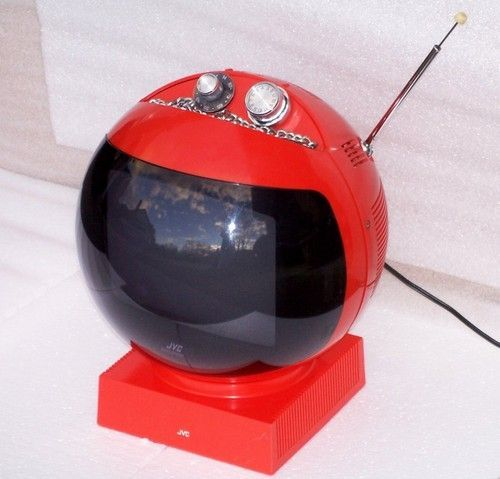 JVC Videosphere Space Helmet TV.......always wanted one of ...