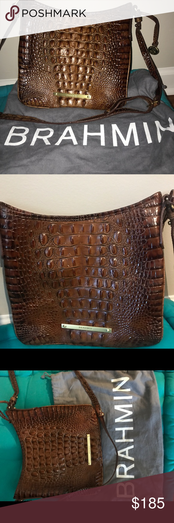 Spotted while shopping on Poshmark  Brahmin Bag!  poshmark  fashion   shopping  style  Brahmin  Handbags 14f2688e85