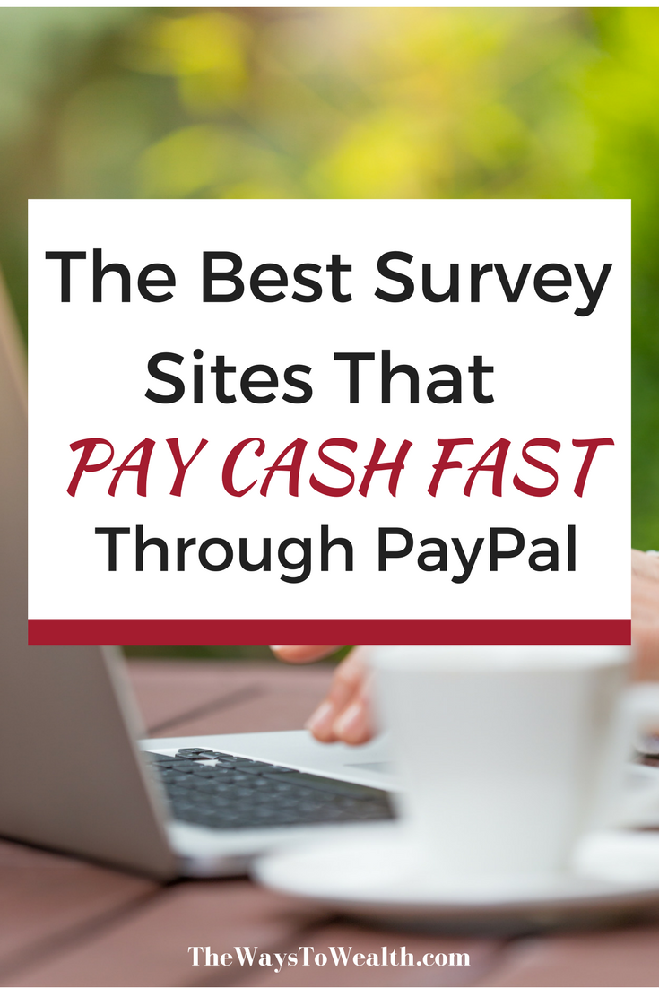Stay At Home Mom Jobs Ideas: The Best Survey Sites That Pay Cash Through PayPal