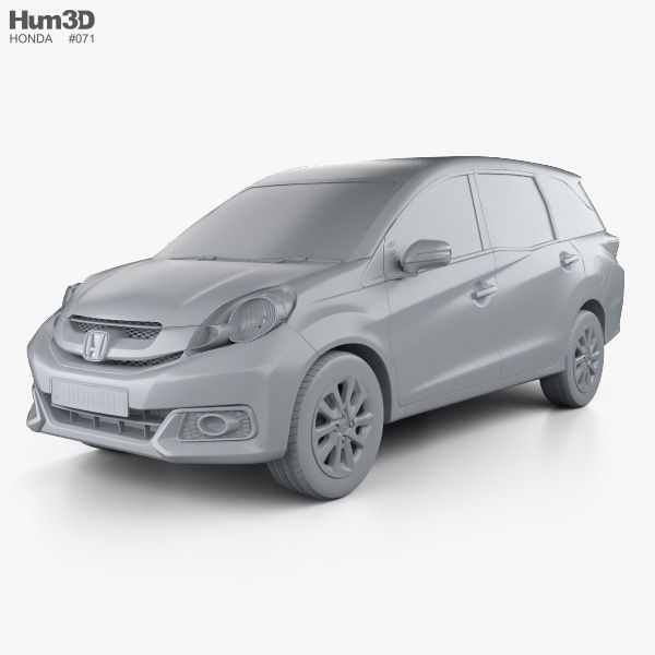 3d Model Of Honda Mobilio 2014