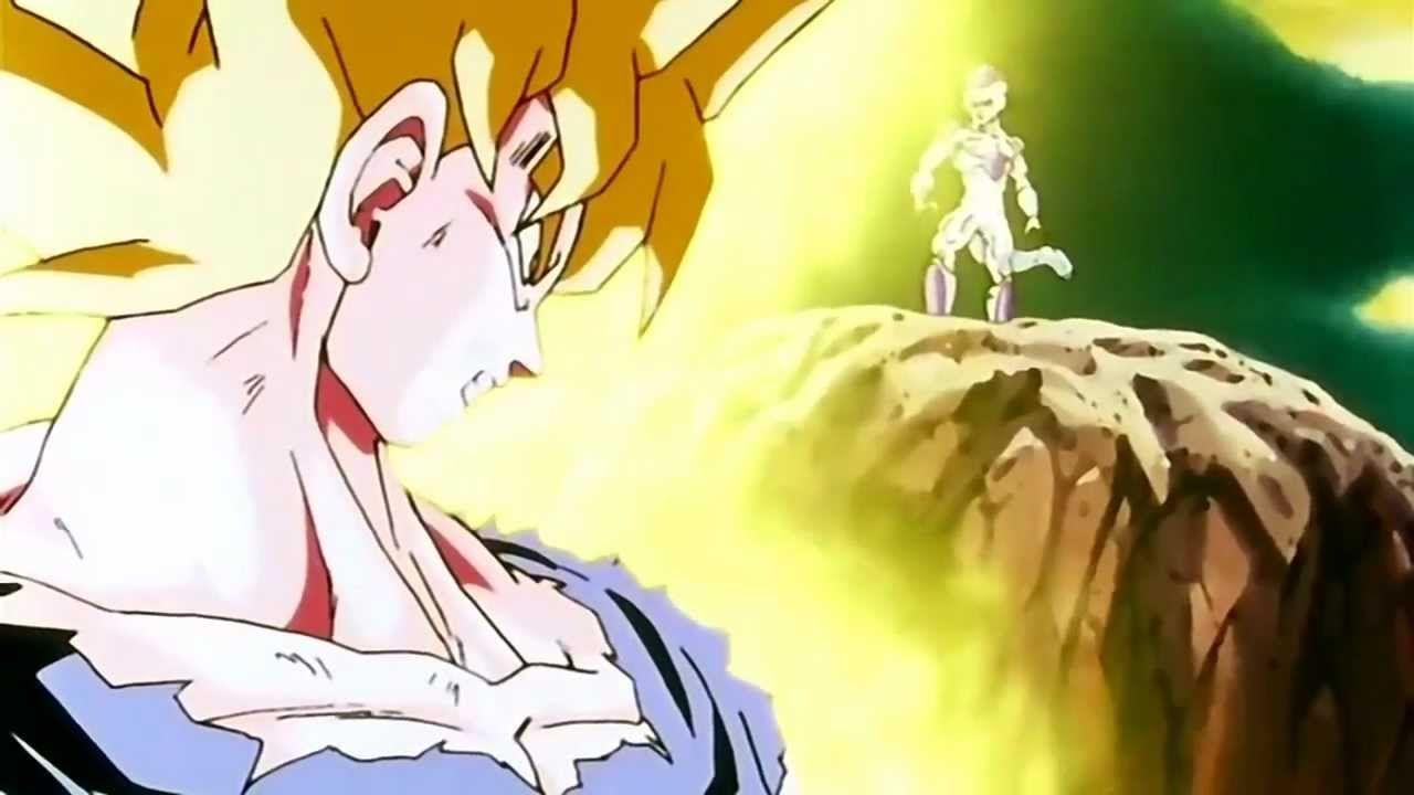 Goku Transforms Into A Super Saiyan For The First Time Hd Dragon Ball Z Dragon Ball Goku