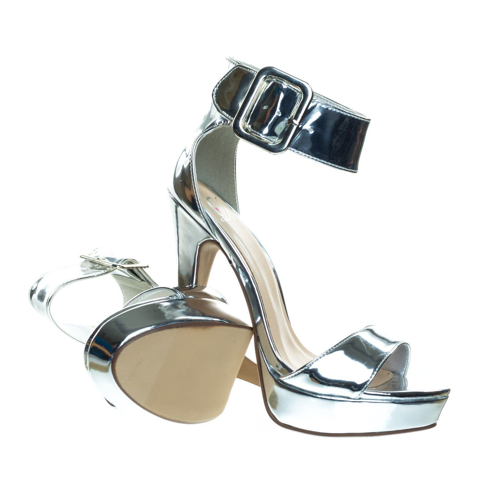3edc5be125e4 About This Shoes  Charm with these brilliant dress sandal featuring thin  high heel