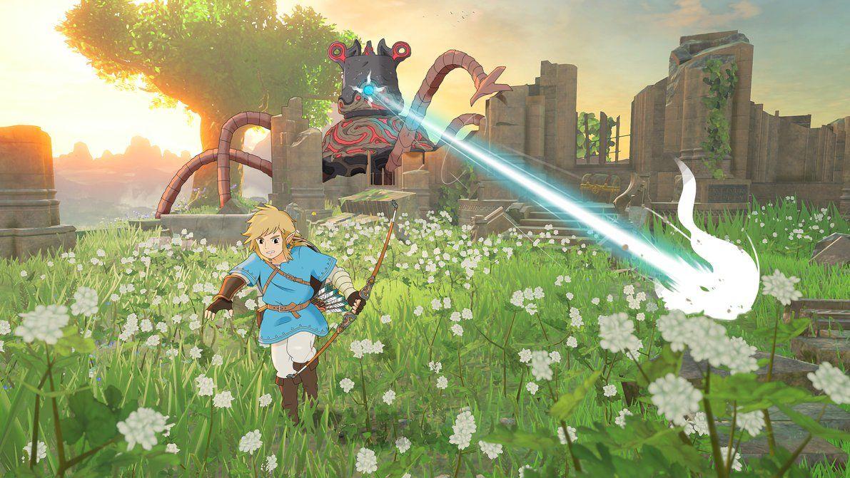 The Legend Of Zelda Breath Of The Wild Ghibli By Neildluffy Legend Of Zelda Breath Of The Wild Legend Of Zelda Breath