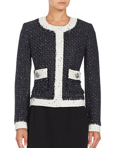 Karl Lagerfeld Embellished Longline Blazer Best Place Sale Online Cheap Sale Real Pictures Cheap Price Clearance 2018 Red Pre Order Eastbay vTtq3Jq4
