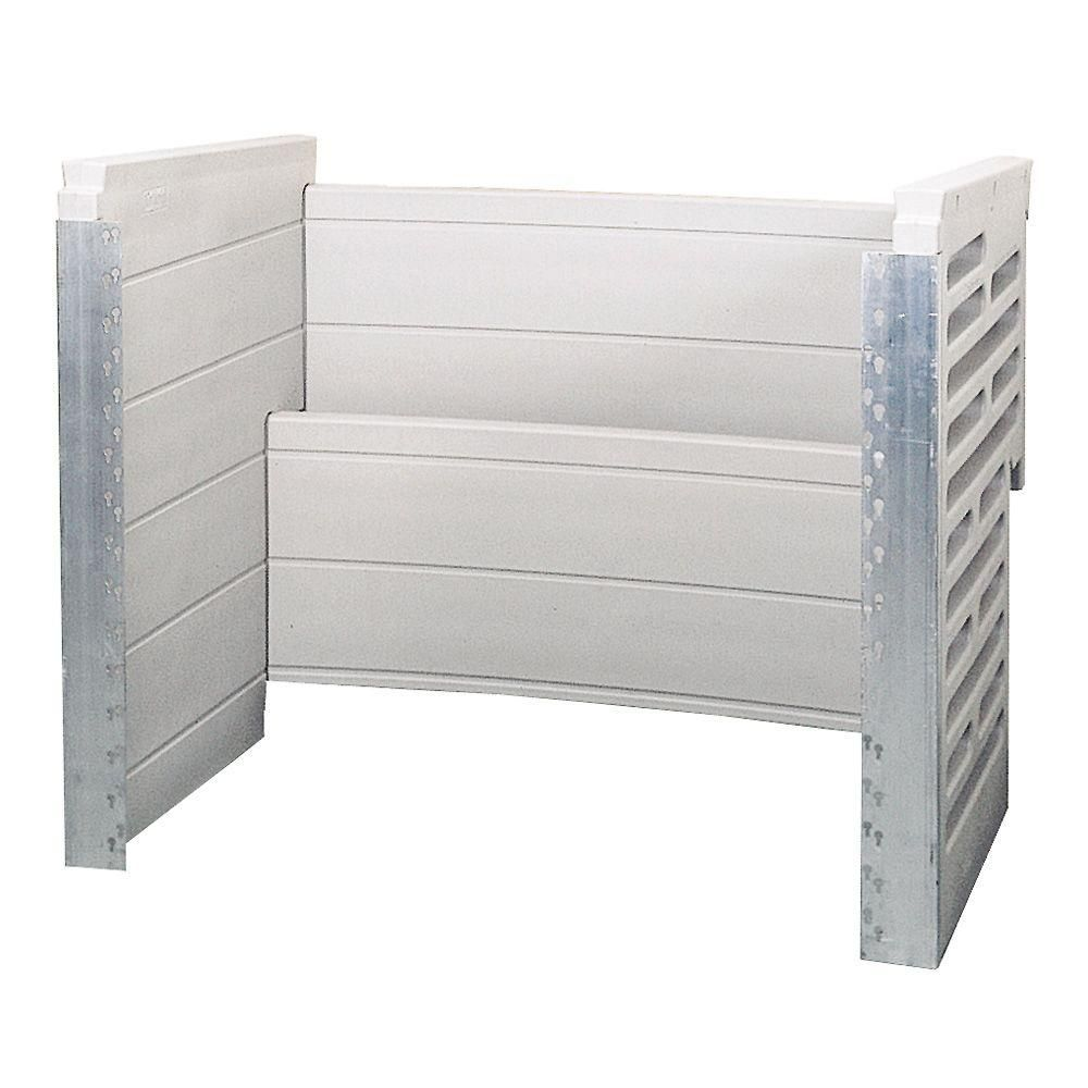 Bilco two tier 54 in x 48 in scapewel polyethylene