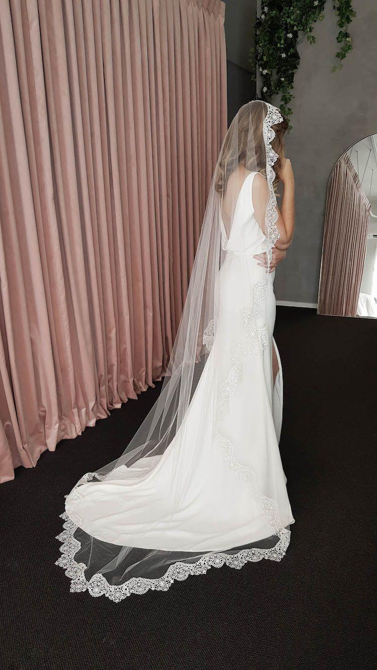 Filigree lace mantilla veil wedding veils lace lace