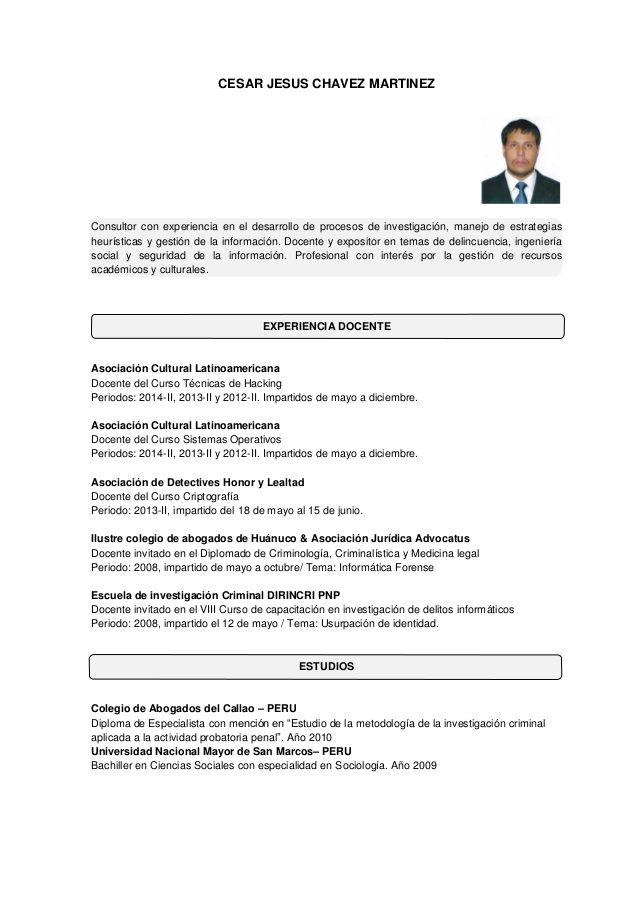 Curriculum Vitae Informatica Con Imagenes Curriculum Vitae