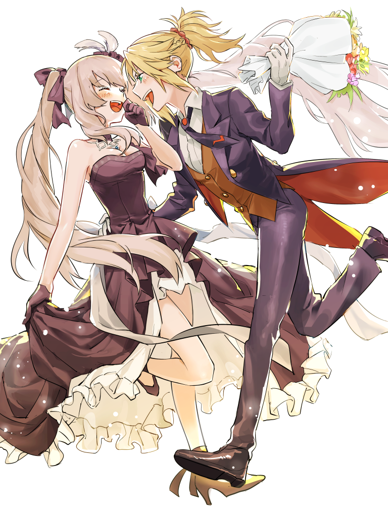 3654c71f2ef72 Mordred / Marie Antoinette【Fate/Grand Order】 | my fate | Fate stay ...