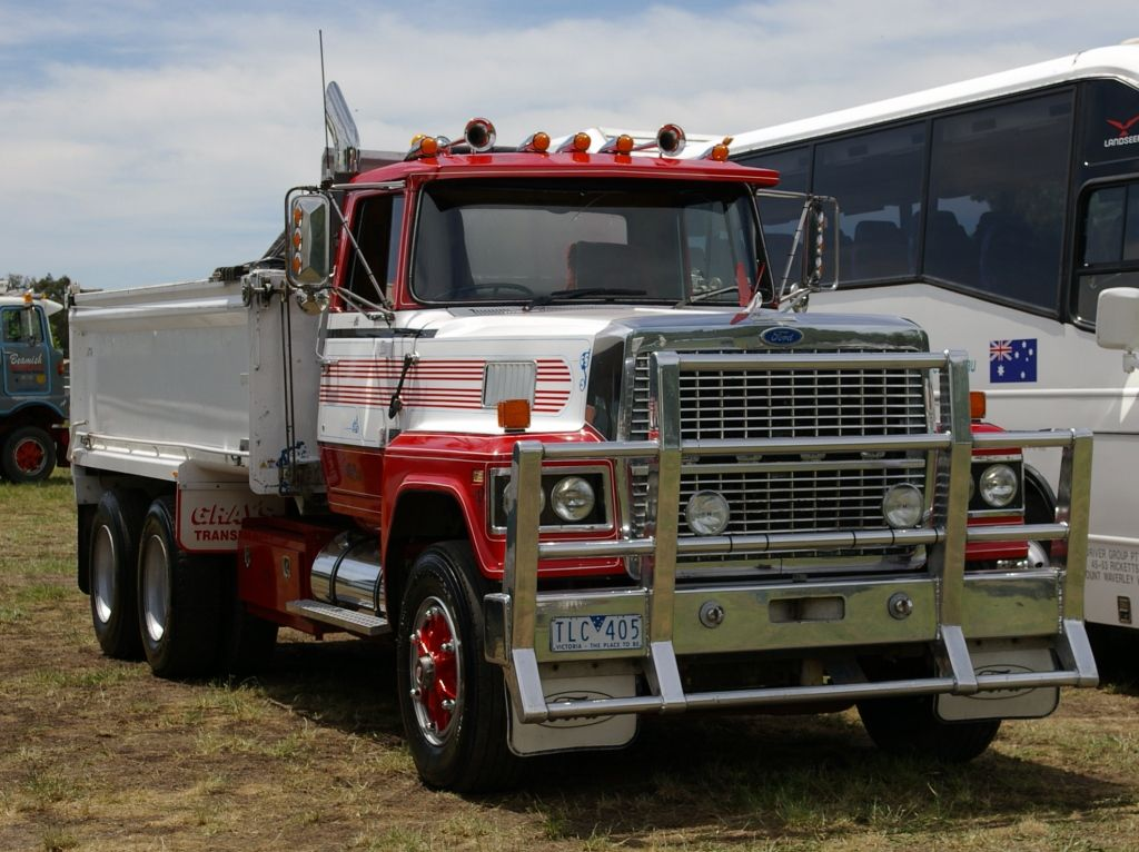 Ford Louisville Ltl9000 Tipper Camiones Peterbilt Ford Camiones