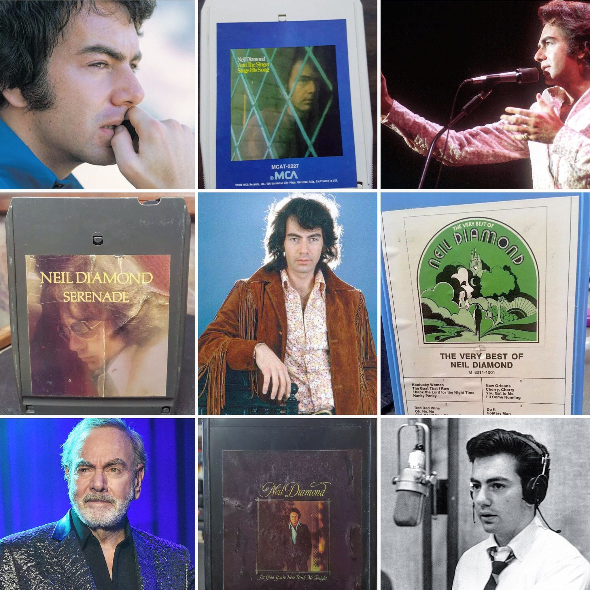 Happy Birthday, Neil Diamond. Thanks for all the Music. Celebrate with 8-Track Paradise today!