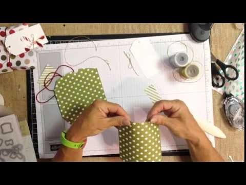 How to assemble the Square Pillow Box Thinlit from Stampin' UP!
