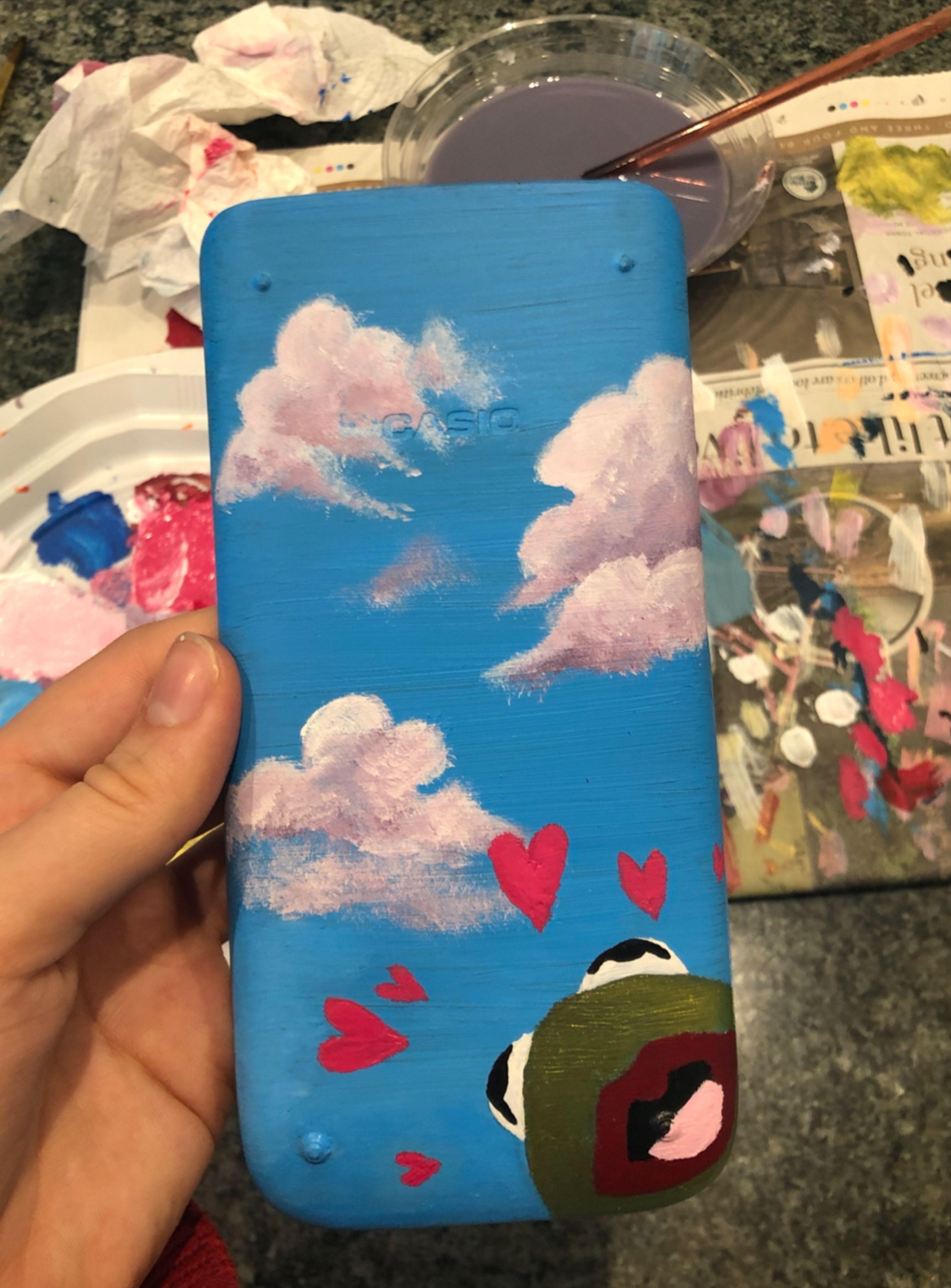 Tiktok Calculator Mini Canvas Art Diy Art Painting Diy Canvas Art