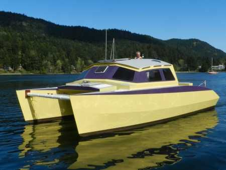 The Skoota 28 is a 28 ft plywood demountable coastal ...