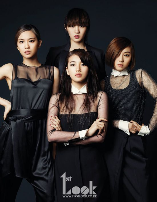 Korean Girl Group Miss A In First Look Magazine Look Magazine Kpop Girls Korean Girl Band
