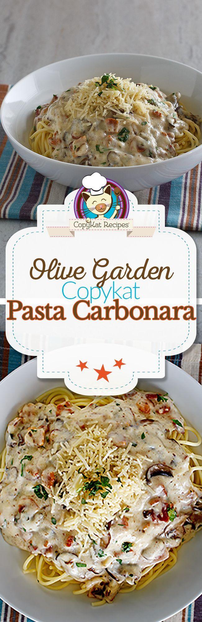 olive garden spaghetti carbonara recipe copycat recipes olive