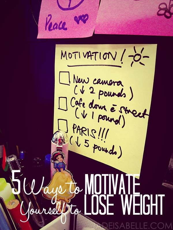 Motivate Me To Lose Weight | JADEISABELLE.COM - 5 Ways to Motivate ...