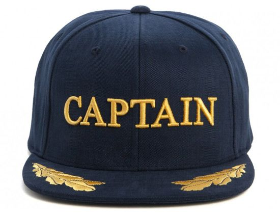 Captain Snapback Cap by THE HUNDREDS  522a5127a24