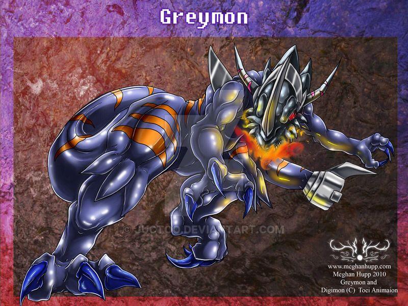 Digimon: Greymon xros by Juctoo on @DeviantArt