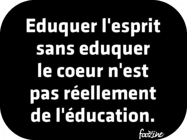 Le Coeur Citation Francais Citation Education Proverbes Et Citations