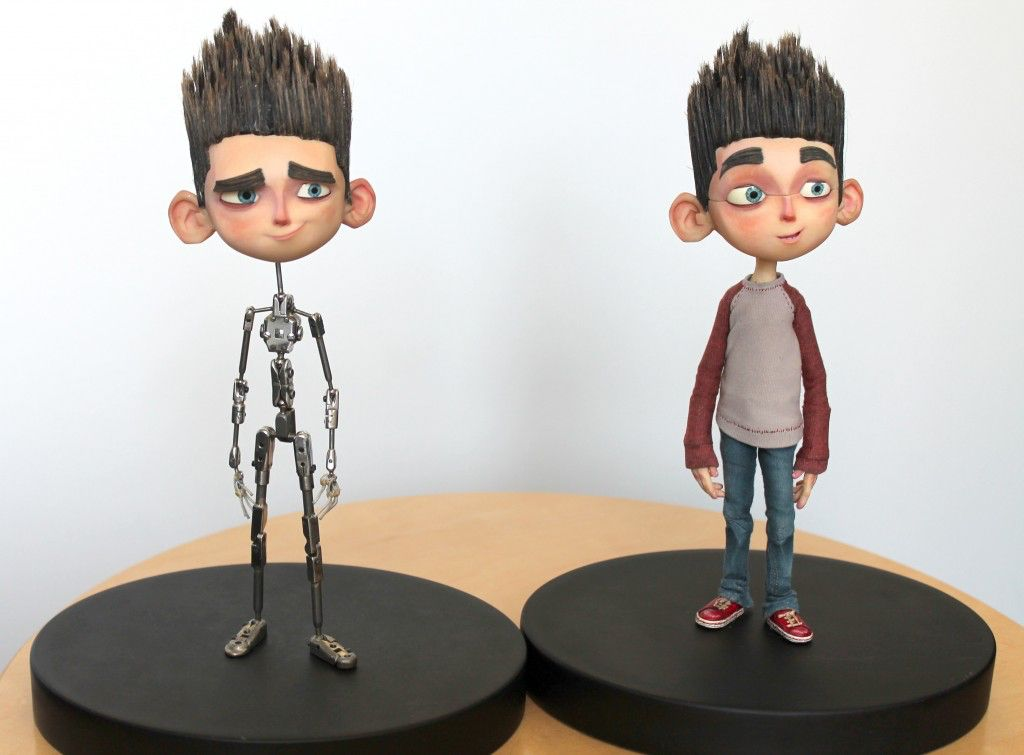 A side by side comparison of the Norman Armature (wire frame ...