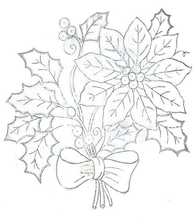 Pin de maria sanchez en dibujos pinterest bordado - Dibujos navidenos para bordar ...