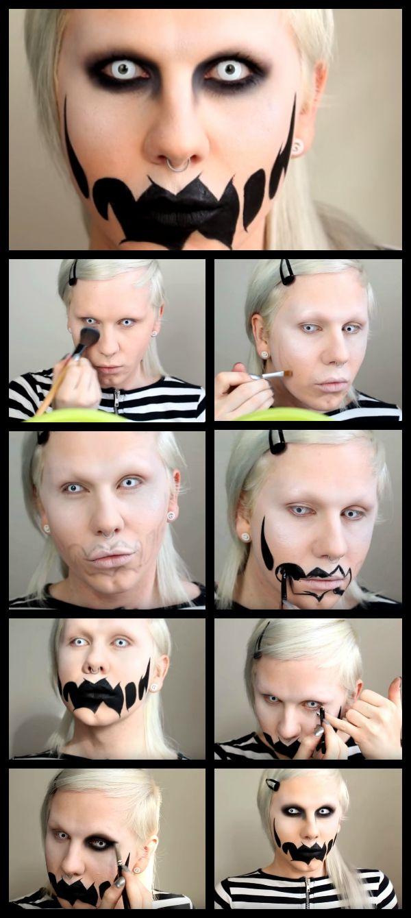 Scary Halloween Makeup Tutorials Mens halloween makeup