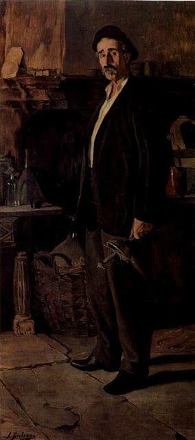 """""""er mundo de manué"""": Ignacio ZULOAGA y Zabaleta; obras, cuadros pinturas"""