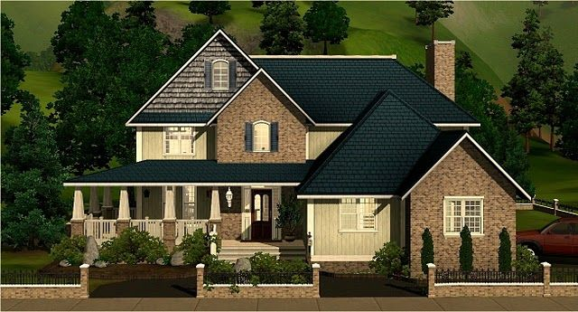 Country Style House Plan 4 Beds 5 Baths 3340 Sq Ft Plan 928 43 Country Style House Plans House Blueprints Vacation House Plans