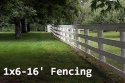 1x6 16 Fencing Boards In Oak Hemlock And Treated Poplar From Graham Lumber Fence Fence Boards Hemlock
