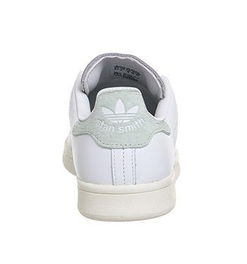 adidas stan smith white vapore verde sport unisex, un miglio a piedi
