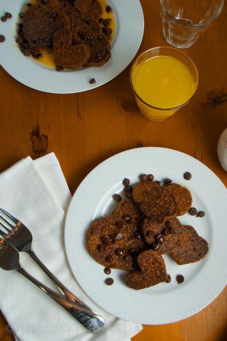 Coffee Heart Shaped Pancakes 2