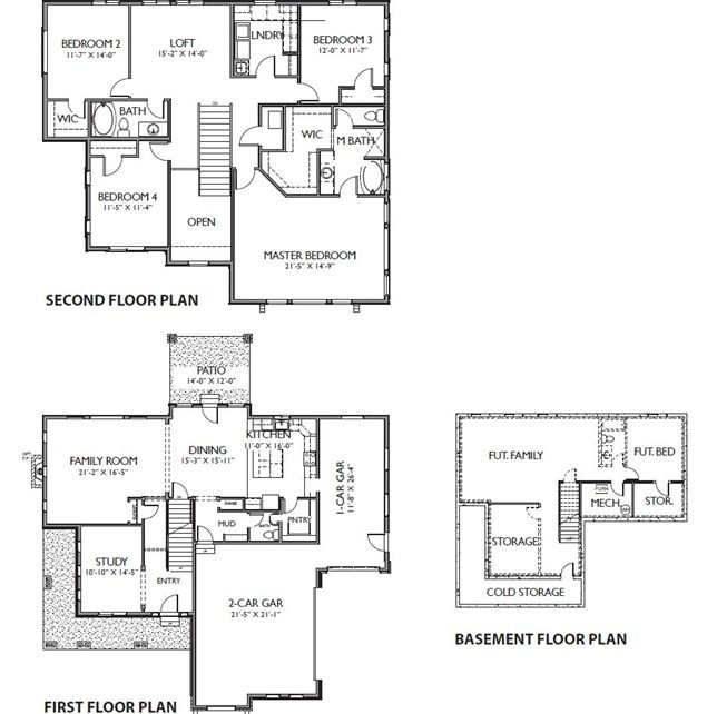 Berkley Evergreen Farms Layton Utah House Floor Plans Basement Floor Plans Floor Plans