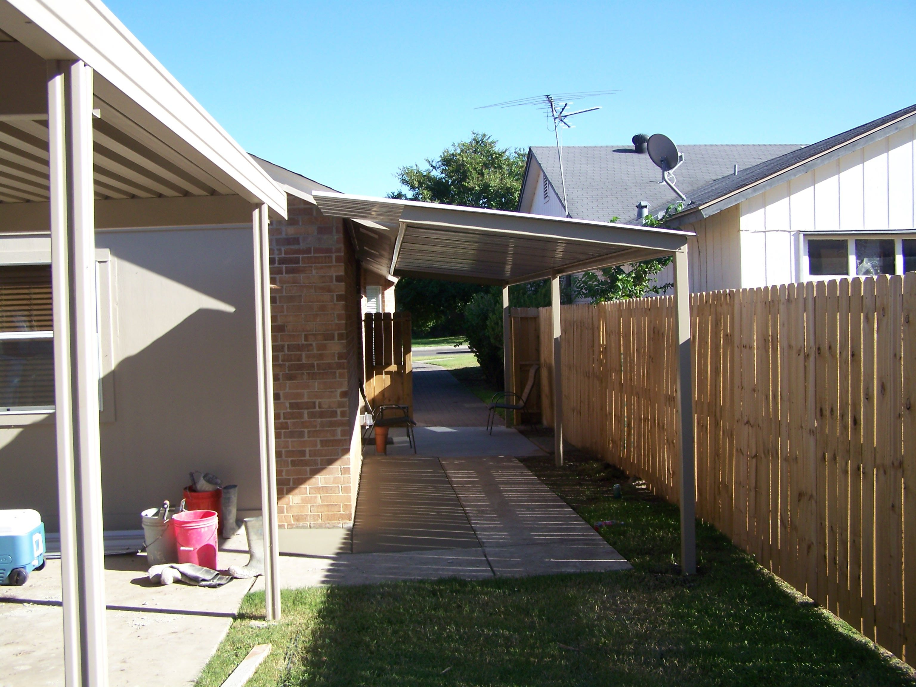 Cover For Existing Patio | Free Standing Patio Awning Cover South San  Antonio