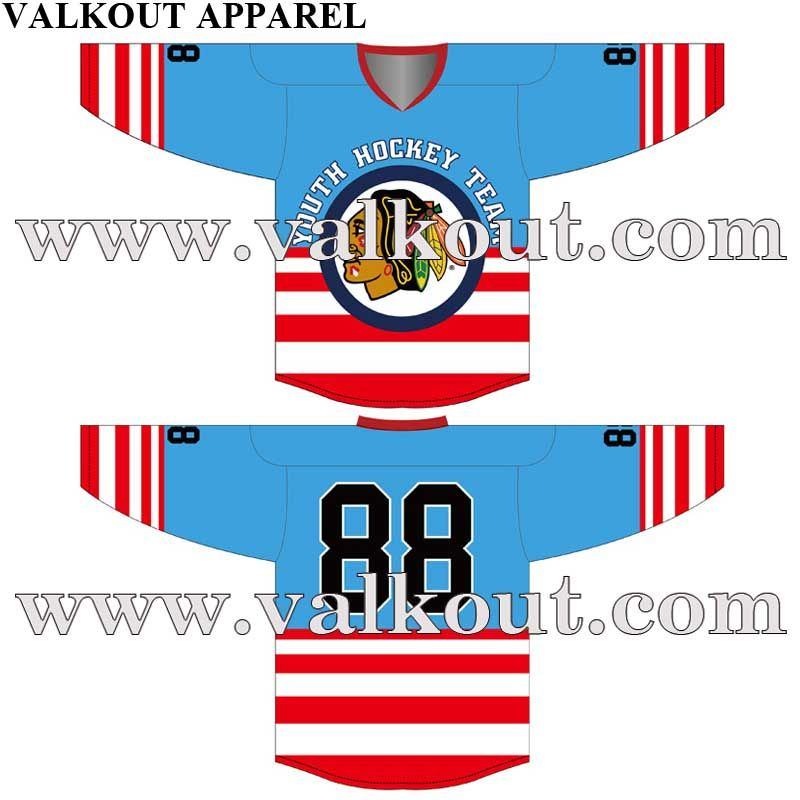 66c3c5b30dd Custom Design Artwork For Sublimated Ice Hockey Jereseys