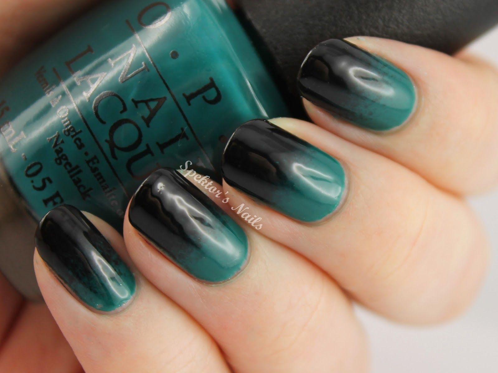 Gradient Nails / OPI AmazON...AmazOFF (With images