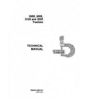 John Deere 2955 3055 3155 And 3255 Tractor Repair Technical Manual. John Deere 2955 3055 3155 And 3255 Tractor Repair Technical Manual Tm4449. John Deere. 1998 John Deere 2955 Electrical Schematics At Scoala.co