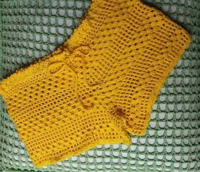 short de croche com grafico - Pesquisa Google | meus croches ...