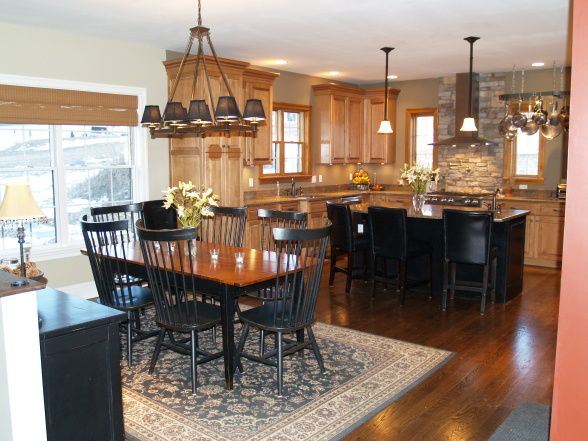 Rustic Elegant Kitchen, For our kitchen in our new home, I ... on Maple Cabinets With Black Countertops  id=72660